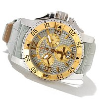 INVICTA MEN'S RESERVE EXCURSION SWISS MADE QUARTZ CHRONO STRAP WATCH