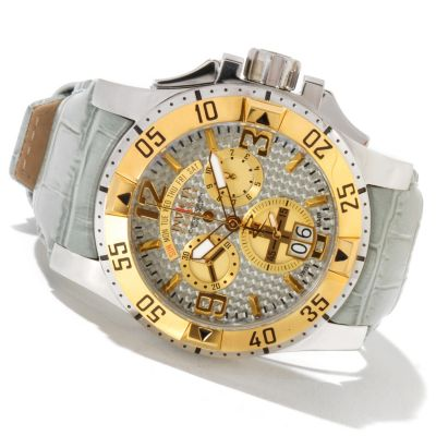 620-858 - Invicta Reserve Men's Excursion Swiss Made Quartz Chronograph Carbon Fiber Dial Strap Watch