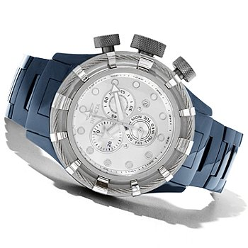 620-952 - Invicta Men's Bolt Sport Quartz Chronograph Ceramic Bracelet Watch w/ 20-Slot Watch Box
