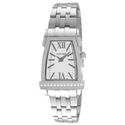 620-958 - Azzaro A by Azzaro Women's Swiss Made Quartz Leather Strap Watch