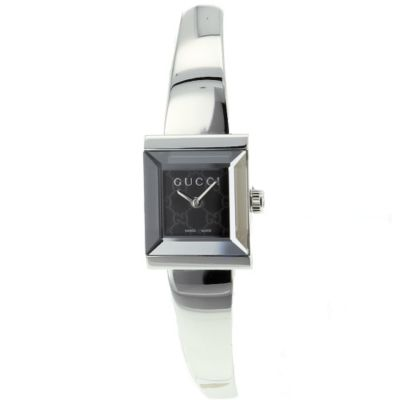621-139 - Gucci Women's G-Frame Swiss Made Quartz Stainless Steel Bracelet Watch