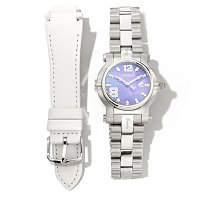 RENATO WOMEN'S BEAUTY INTERCHANGEABLE QUARTZ BRACELET WATCH WITH EXTRA STRAP