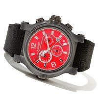 RENATO MEN'S T-REX QUARTZ CHRONOGRAPH SYNTHETIC STRAP WATCH