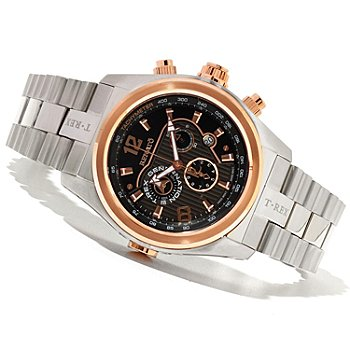 621-170 - Renato Men's T-Rex Generation III Limited Edition Swiss Quartz Chronograph Bracelet Watch