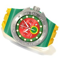 "INVICTA MEN'S AKULA DIVER ""PUPPY EDITION"" QUARTZ CHRONO SILICONE STRAP WATCH"