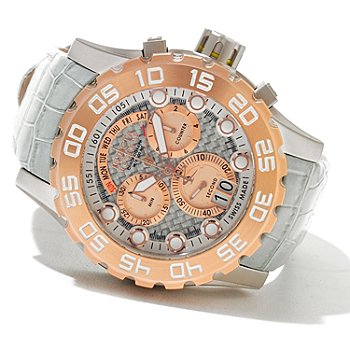 621-186 - Invicta Reserve Men's Leviathan Swiss Made Quartz Chronograph Strap Watch