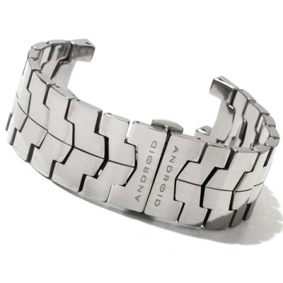 "621-194 - Android 7.5"" Interchangeable Tungsten Bracelet"
