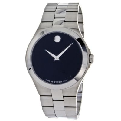 621-203 - Movado Men's Classic Swiss Quartz Stainless Steel Bracelet Watch