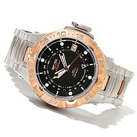 INVICTA MEN'S SUBAQUA NOMA V SWISS MADE AUTOMATIC A07 GMT BRACELET WATCH