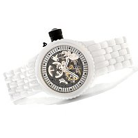 INVICTA WOMEN'S RUSSIAN DIVER MECHANICAL CERAMIC BRACELET WATCH W/COLLECTOR'S BO