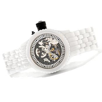 621-296 - Invicta Mid-Size Russian Diver Mechanical Ceramic Bracelet Watch w/ Collector's Box