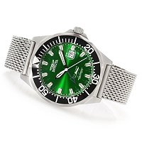 INVICTA MEN'S PRO DIVER QUARTZ GMT MESH BRACELET WATCH