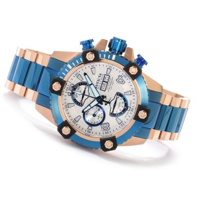 621-328 - Invicta Reserve Men's Arsenal Swiss Made Valjoux 7750 Automatic Stainless Steel Bracelet Watch