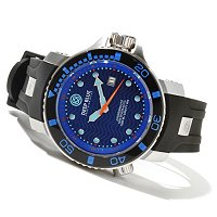 DEEP BLUE MEN'S JUGGERNAUT II AUTOMATIC 1000M SILICONE STRAP WATCH