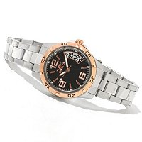 INVICTA WOMEN'S SPECIALTY QUARTZ MOVEMENT STAINLESS BRACELET WATCH W/ CASE
