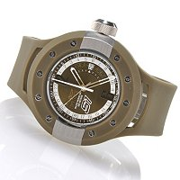 INVICTA MEN'S S1 RALLY SWISS QUARTZ GMT POLYURETHANE STRAP WATCH