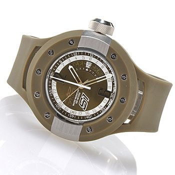 621-370 - Invicta Men's S1 Rally Swiss Made Quartz GMT Strap Watch