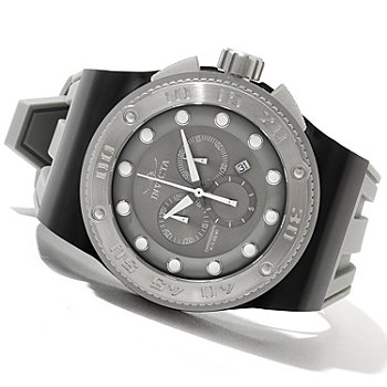 621-375 - Invicta Men's Akula Sport Quartz Chronograph Stainless Steel Silicone Strap Watch