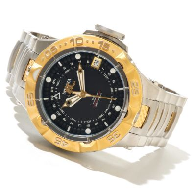 621-384 - Invicta Men's Subaqua Noma V Limited Edition A07 Valgranges GMT Stainless Steel Bracelet Watch