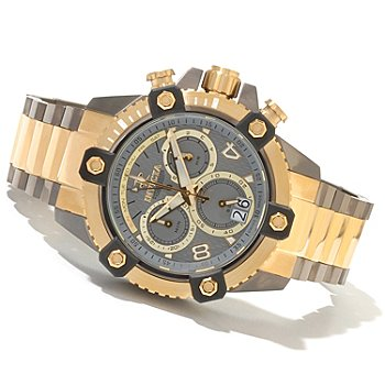 621-398 - Invicta Reserve Men's Arsenal Swiss Made Quartz Chronograph Bracelet Watch