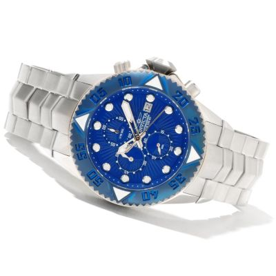 621-404 - Invicta Men's Pro Diver Galaxy Quartz Chronograph Stainless Steel Bracelet Watch