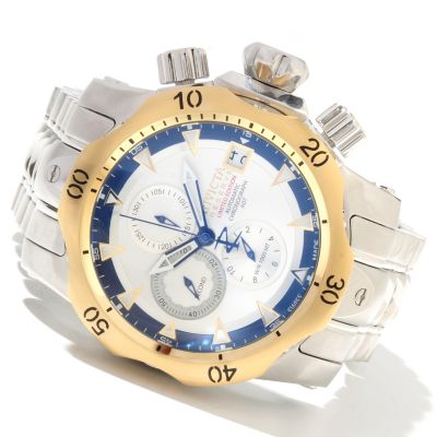 621-628 - Invicta Reserve Men's Venom Limited Edition A07 Automatic Stainless Steel Bracelet Watch