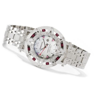 621-636 - XO Skeleton Women's Superlative Star Limited Edition Swiss Quartz Stainless Steel Watch