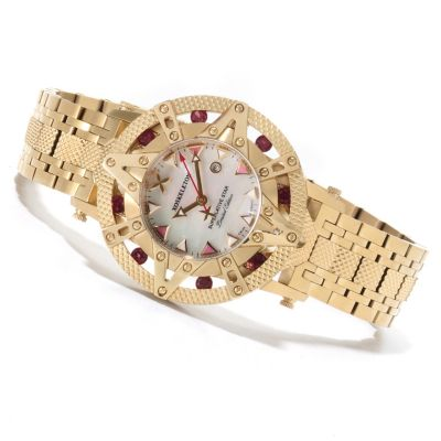 621-637 - XO Skeleton Women's Superlative Star Limited Edition Swiss Quartz Stainless Steel Watch