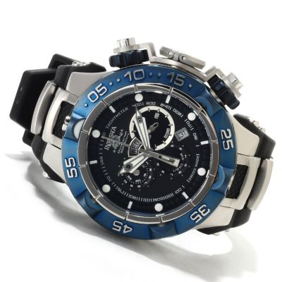 621-678 - Invicta Men's Subaqua Noma V Swiss Made Quartz Chronograph Polyurethane Strap Watch