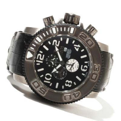 621-708 - Invicta Reserve Men's Sea Hunter Limited Edition Swiss Chronograph Quartz Strap Watch