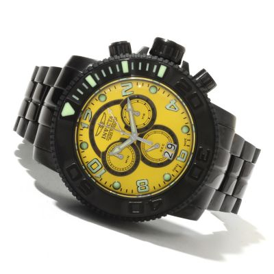 621-724 - Invicta Men's Sea Hunter Swiss Made Quartz Chronograph Stainless Steel Bracelet Watch