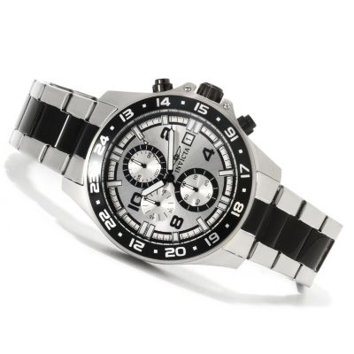 621-754 - Invicta Men's Pro Diver Specialty Quartz Chronograph Stainless Steel Bracelet Watch