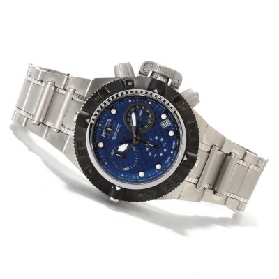 621-822 - Invicta Mid-Size Subaqua Noma IV Swiss Made Quartz Chronograph Stainless Steel Bracelet Watch
