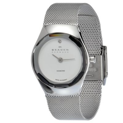 621-982 - Skagen Women's Mesh Quartz Stainless Steel Bracelet Watch