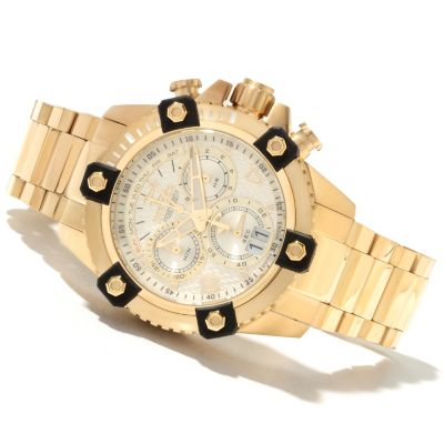 622-021 - Invicta Reserve Men's Arsenal Swiss Made Quartz Chronograph Stainless Steel Bracelet Watch