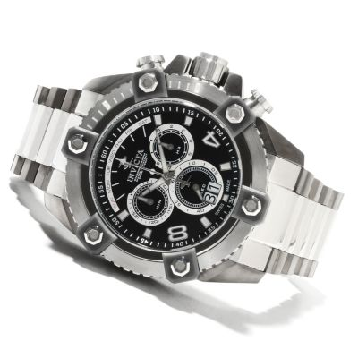 622-189 - Invicta Reserve Men's Grand Arsenal Swiss Made Quartz Chronograph Stainless Steel Bracelet Watch