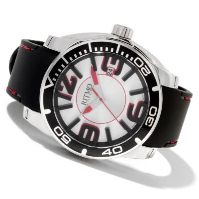 622-191 - Ritmo Mundo Men's Apollo Sport Quartz Stainless Steel Strap Watch