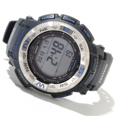 622-217 - Casio Men's Pro Trek Digital Solar Quartz Rubber Strap Watch