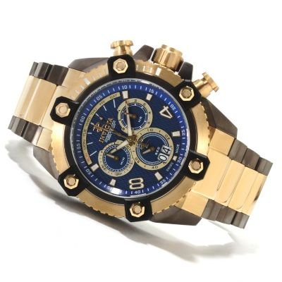 622-220 - Invicta Reserve Men's Grand Arsenal Swiss Made Quartz Chronograph Stainless Steel Bracelet Watch