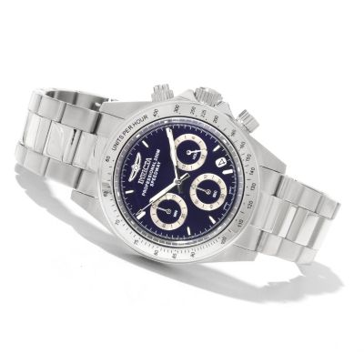 622-331 - Invicta Men's Speedway Quartz Chronograph Stainless Steel Bracelet Watch