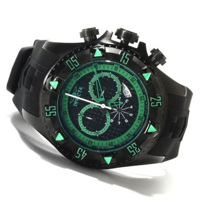 622-333 - Invicta Men's Excursion Sport Quartz Chronograph Stainless Steel Silicone Strap Watch