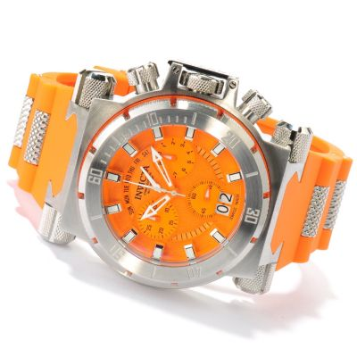622-378 - Invicta Men's Coalition Force Swiss Made Quartz Chronograph Polyurethane Strap Watch