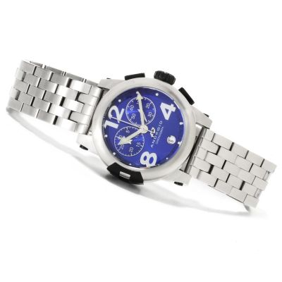 622-435 - Android Women's Intercontinental Quartz Chronograph Stainless Steel Bracelet Watch