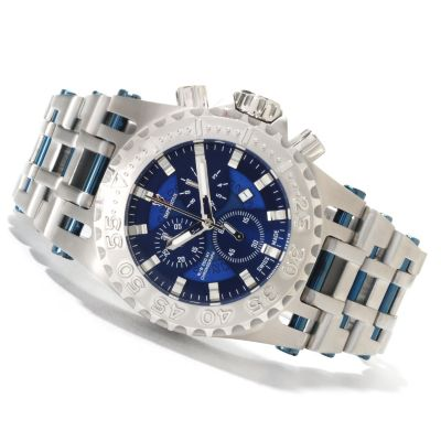 622-496 - Imperious Men's Chaos Swiss Made Quartz Chronograph Stainless Steel Bracelet Watch