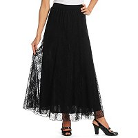 GENEOLOGY FULL LENGTH PULL ON LACE SKIRT