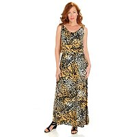 Love Carson by Carson Kressley Printed Maxi Dress