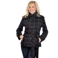 MM Essentials Women's Single Breasted Fleece Trench