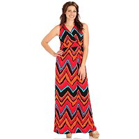 Kate & Mallory All-Over Print Maxi Dress