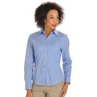 BROOKS BROTHERS MINI HOUNDSTOTH BLOUSE