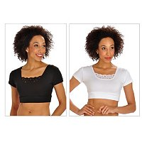 Halftee Modal Lace Two-Pack Tank